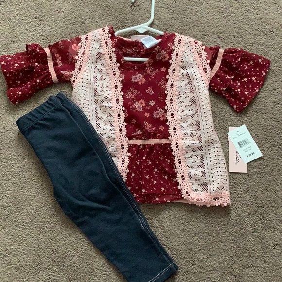BRAND NEW! Little lass outfit